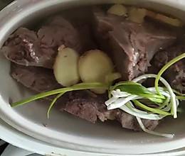 牛骨汤的做法