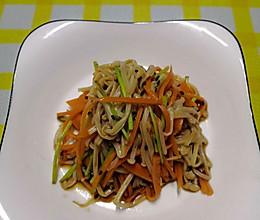 #营养小食光#凉拌金针菇的做法