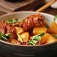 #餐桌上的春日限定#浓香下饭菜—红烧鸡肉炖土豆的做法图解1