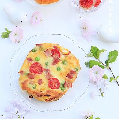 10分钟快手早餐~迷你脆底小比萨