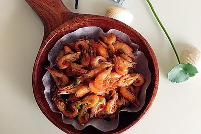 椒盐脆香小河虾-男人的下酒菜,女人的小零嘴