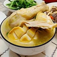 营养鲍鱼鸡汤的做法图解8