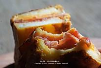 蛋包流芯三明治|快手早餐专治要迟到的工作日的做法