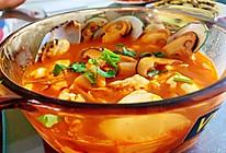 泡菜海鲜豆腐汤 就是这个味儿的做法