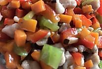 青笋香菇红椒兔肉的做法