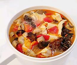 番茄菌菇减脂汤的做法