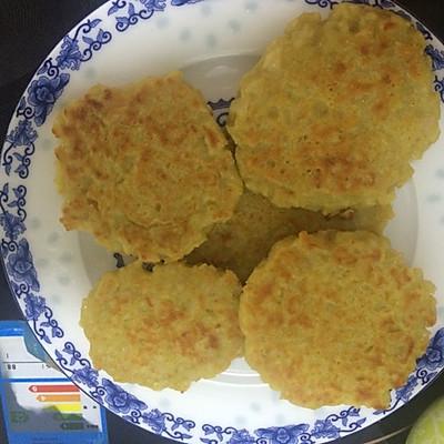 香煎藕饼(牛肉藕饼)