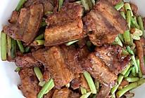 五花肉炒蒜薹的做法