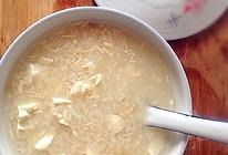 银鳕鱼豆腐粥——营养粥之4宝宝食谱的做法