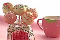 不用烤箱不用模具做棒棒糖蛋糕#甜蜜厨神#的做法