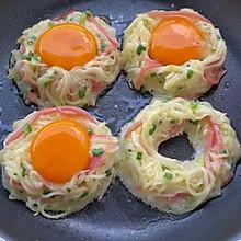 早餐不知道吃什么,一定要试试这个太阳蛋土豆饼!