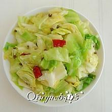 炝炒圆白菜
