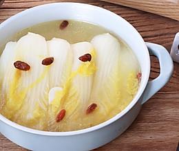 #福气年夜菜#年味.鸡汤娃娃菜的做法