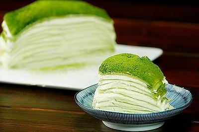 抹茶千层【微体兔菜谱】