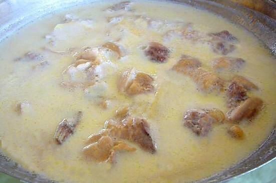 鸭架汤(奶白的,最简单最基础做法)的做法