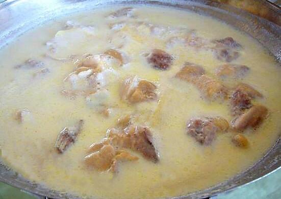 鸭架汤(奶白的,最简单最基础做法)