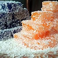 椰蓉胡萝卜冻和椰蓉紫甘蓝冻的做法图解8