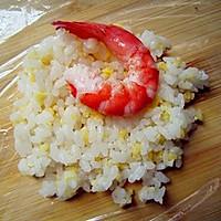 柬埔寨茉莉香米虾仁饭团的做法图解9
