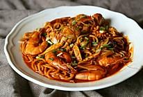 韩剧【一起用餐吧】青海大王海鲜面的做法