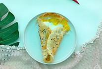 鸡蛋手抓饼#花10分钟,做一道菜!#的做法