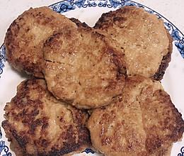 汉堡鸡肉饼的做法