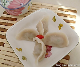 白萝卜羊肉馅饺子的做法