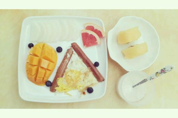 吃个早餐的做法
