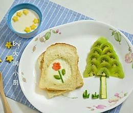 面包片上的春天的做法