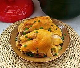 #我要上首焦#原汁原味砂锅盐焗鸡的做法