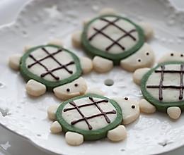 超可爱的乌龟饼干的做法