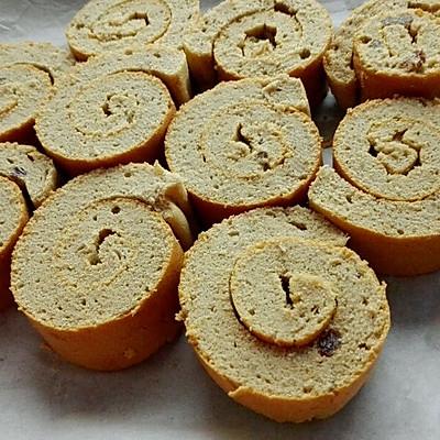 葡萄干咖啡蛋糕卷