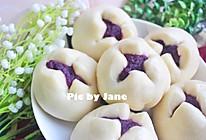 紫薯开花馒头#福临门好面用芯造#的做法