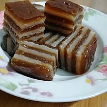 红糖椰汁糕(木薯粄、木薯糕、木薯千层糕)
