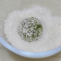 花生牛奶糯米糍椰蓉球的做法图解8