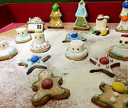 圣诞雪人姜饼的做法