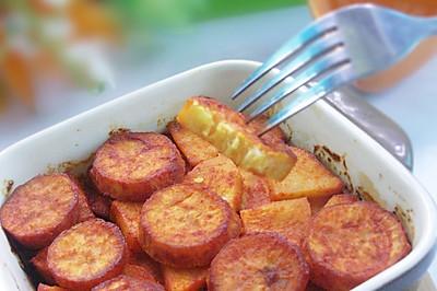 苹果烤红薯