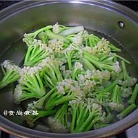 广式腊肠炒花菜#味极鲜味汁#的做法图解4