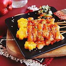 鸡肉年糕串
