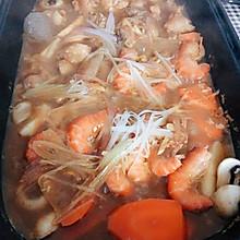 奥尔良鸡肉虾焖锅