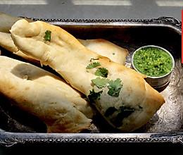 印度馕饼(砂锅馕坑)配香菜青酱Naan•夏天乡野滋味(六)的做法