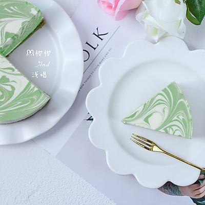 抹茶大理石紋芝士蛋糕