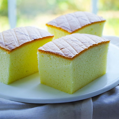 超柔软的棉花蛋糕