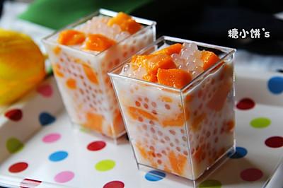 【芒果西米捞】煮出弹牙无白芯的西米