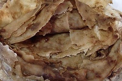 芝麻酱红糖饼