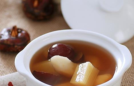 甘蔗马蹄甜汤的做法