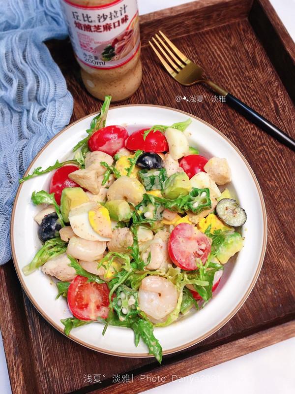 你一定不能错过的减脂神菜---蔬果鸡胸肉沙拉