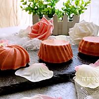 红曲芝士小蛋糕 #舌尖上的春宴#的做法图解10
