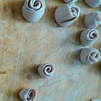 紫薯玫瑰小馒头的做法图解7
