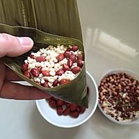 红豆花生粽的做法图解9