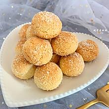 椰香浓郁的黄金椰蓉球~经典小零食